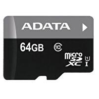 Adata 64GB ADAPT. MicroSDXC UHS-I Kart 50/10MB/sClass10