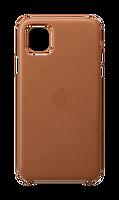 Apple MX0D2ZM/A  iPhone 11 Pro Max Deri Kılıf - Klasik Kahve