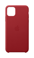 Apple MX0F2ZM/A  iPhone 11 Pro Max Deri kılıf - (PRODUCT)RED