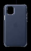Apple MWYG2ZM/A iPhone 11 Pro Deri Kılıf - Gece Mavisi