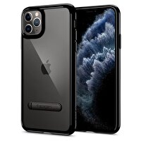 Spigen Ultra Hybrid S DESIGNED FOR Apple iPhone 11 Pro Max (2019) Kılıf JET Black