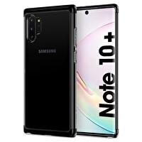 Spigen Galaxt Note 10 Plus Neo Hybrid  NC Siyah Telefon Kılıfı