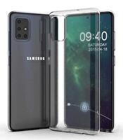 Preo My Case Samsung A71 Şeffaf Telefon Kılıfı