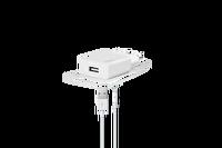 Ttec SmaetCharger Seyahat Şarj Aleti 2A + Lightning Beyaz Kablo