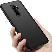Preo My Case Xiaomi Note 8 Pro Siyah Telefon Kılıfı