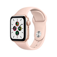 Apple Watch SE 40mm Gold Alüminyum Kasa ve Kum Pembesi Spor Kordon MYDN2TU/A
