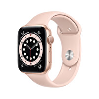 Apple Watch Seri 6 44mm Gold Alüminyum Kasa ve Kum Pembesi Spor Kordon M00E3TU/A