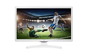 "LG 24TK410U-WZ 24"" 60 Ekran Uydu Alıcılı HD Monitör TV ( OUTLET )"