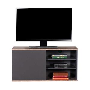 Adore Flat Line TVC-310-LA-1 Kapaklı Üç Bölmeli Tv Sehpası Latte Antrasit