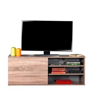 Adore Flat Line Plus TVC-510-LL-1 Kapaklı Üç Bölmeli Tv Sehpası Latte