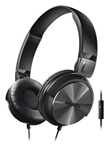 Philips Shl3165Bk/00 Mikrofonlu Kulak Üstü Kulaklık Siyah