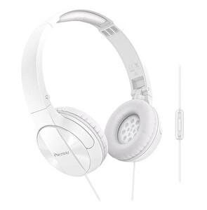 Pioneer Se-Mj503T-W Mikrofonlu Kulaküstü Kulaklık - Beyaz