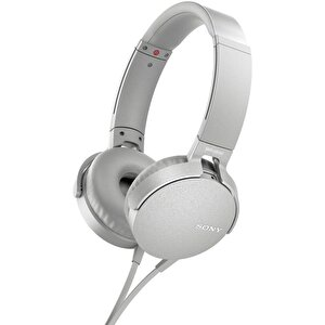 Sony Mdrxb550Apw.Ce7 Extra Bass Kulak Üstü Kulaklık Beyaz