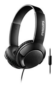 Philips Shl3075Bk/00 Bass+ Kafabantlı Mikrofonlu Kulaklık Siyah