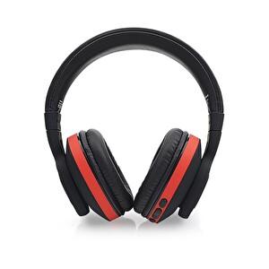 Preo My Sound MS18 Kulak Üstü Kablosuz Bluetooth Kulaklık Kırmızı
