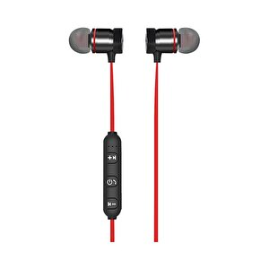 Preo My Sound MS27 Kablosuz Kulak İçi Kulaklık - Kırmızı