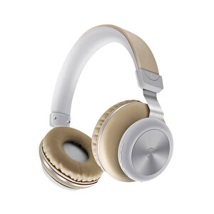 Preo My Sound MS33 Kulak Üstü Kablosuz Bluetooth Kulaklık-Kahverengi