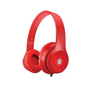 Preo My Sound MS34 Kulak Üstü Kulaklık Kırmızı