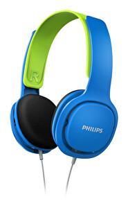 Philips SHK2000BL Kulak Üstü Çocuk Kulaklığı Mavi