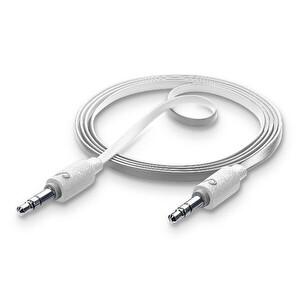 Cellularline Beyaz Aux Bağlantı Kablosu