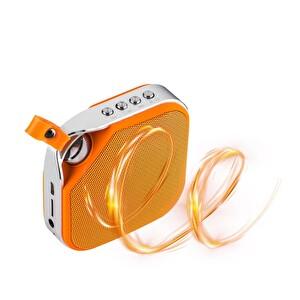 Goldmaster Enjoy 60 Radyolu Turuncu Bluetooth Speaker