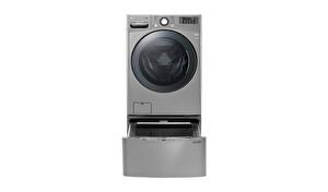 LG TWDVI1710V.ASSPLTK TwinWash Aynı Anda 2 Farklı Yıkama 20,5Kg Yıkama 10Kg KurutmaÇamaşır Makinesi