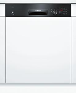 Bosch SMI25DB00T 60 Cm 5 PRG  A+Enerji Sınıfı 52 dB 12 Lt XXL Sepetler Yarı Ankastre Siyah Bulaşık Makinesi