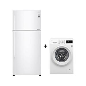LG GC-C502HQCU + F2J5TNP3W Beyaz Eşya Seti