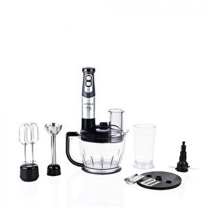 Arnica GH21801 Diva Trend Pro 1200 W Blender Seti Gümüş