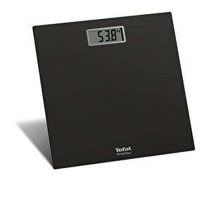 Tefal PP1060V0 Premiss  Cam Platformlu Geniş Ekranlı Siyah Banyo Tartısı
