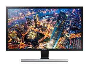 "Samsung 28"" LU28E590DS/UF  UE590 UHD 4K 1ms FreeSync HDMI+DP 1 Milyar renk Gaming Monitör"