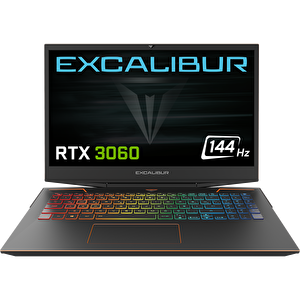 """Casper Excalibur G900.1180-B660A-B i7-11800H 16 GB RAM 1TB HDD 500 GB NVMe SSD RTX3060 6GB 15.6"""" 144hz W10 Home  Gaming Notebook"""