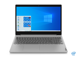 "LENOVO IdeaPad 3 81WE008ETX Intel Core i3-1005G1 4 GB 128 GB SSD Integrated Intel UHD Graphics 15,6"" HD W10 Platin Gri Notebook ( OUTLET )"