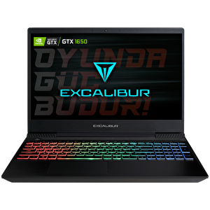 "Casper Excalibur G770 Intel 10.Nesil i7-1075 16GB RAM 1TB HDD 4GB GTX1650 15.6"" Win 10 Pro Gaming Notebook"