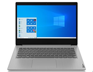 "LENOVO IdeaPad 3 81WA00C2TX Intel Celeron 5205U 4 GB 128 GB SSD Entegre Intel UHD 14"" HD W10 Platin Gri Notebook ( OUTLET )"