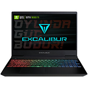 Casper Excalibur G770 Intel 10.Nesil i7-1075H 32 GB RAM 240 GB SSD 4GB GTX1650Tİ 15.6'' Siyah Win 10 Home Gaming Notebook