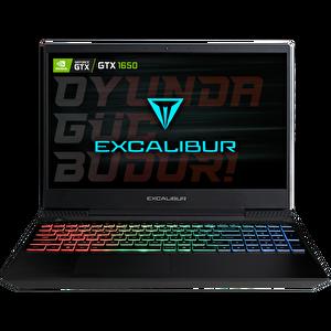 Casper Excalibur G770.1075-BEH0A Intel 10.Nesil i7-1075 16GB RAM 480GB SSD GTX 1650 4GB  15,6'' Siyah Gaming Notebook