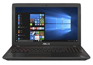 "ASUS FX553VE-DM407T i5-7300HQ/8 GB DDR4/1 TB/4 GB NVIDIA GeForce GTX 1050 Ti/15.6""/W10 NOTEBOOK ( OUTLET )"
