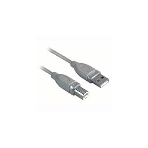 Hama 45021 A-Lug - B-Plug Grey 1.8 M Usb Bağlantı Kablosu