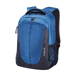 """Samsonite 66V-01-003 15.4"""" Mavi-Koyu Gri Freeguider Notebook Sırt Çantası"""