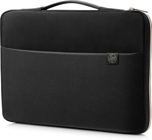 HP 14 Carry Sleeve Black/Gold Notebook Çantası