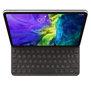 """Apple Smart Keyboard Folio MXNK2TQ/A 11"""" iPad Pro 1. Ve 2. Nesil, iPad Air 4. Nesil Uyumlu Türkçe Q Klavye"""
