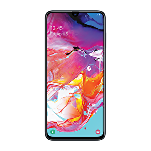 SAMSUNG GALAXY A70 A705F BLACK AKILLI TELEFON ( TESHIR )