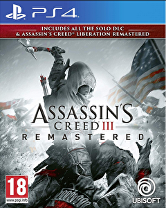 Aral Assassins Creed III Remastered PS4 Oyun