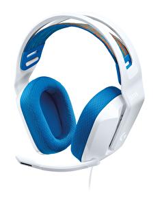 Logitech G G335 Kablolu Oyuncu Kulaklığı Beyaz
