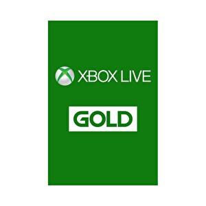 Xbox Live 3 Aylık Gold Üyelik