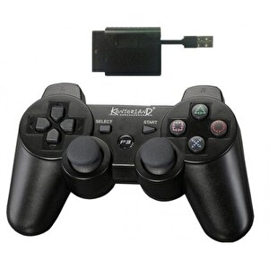 Kontorland Ps3/Ps2/Pc Usb Şarj Edilebilir 2.4 Hz Wireless Analog Oyun Kolu