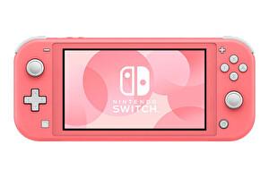 Nintendo Switch Lite Konsol Pembe