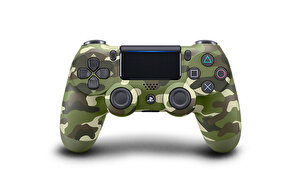PS4 DUALSHOCK GREEN CAMO V2 ( OUTLET )