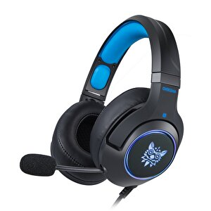 Onikuma K9 Mikrofonlu Kulaklık Siyah/Mavi